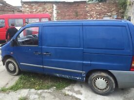 Mercedes Benz Vito 108d 2.3d Spare Parts