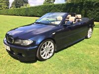 BMW 330 Ci MSport Individual Convertible, MOT 12 June 17, Full Service History, 82k Miles & Hard Top