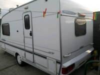Freestyle touring caravan