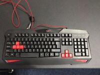 Red Dragon keyboard (Red LED)