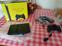 PlayStation 2 with original box