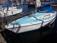 Sailing yacht seamaster 815 reduced to £5000