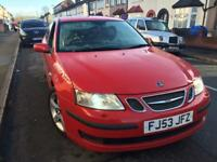 Saab 93 1.8 Turbo 2003 Starts and drives bargain 1 owner..not vectra bmw