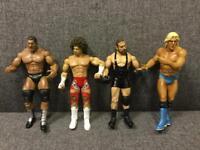 Retro WWE WRESTLING JAKKS SPECIFIC ACTION FIGURES 2003 2004 2005 2007 Rare BUndle 3 SDHC