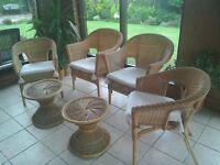 Six piece conservatory set