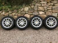 Porsche winter wheels tyres