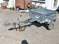 ERDE 102 CAR TRAILER WITH TIPPER FUNCTION.FREE DELI VERY B,MOUTH AND LYMINGTON AREAS