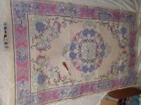 Latch Hook Readycut wool rug kit very large size 90x150cm