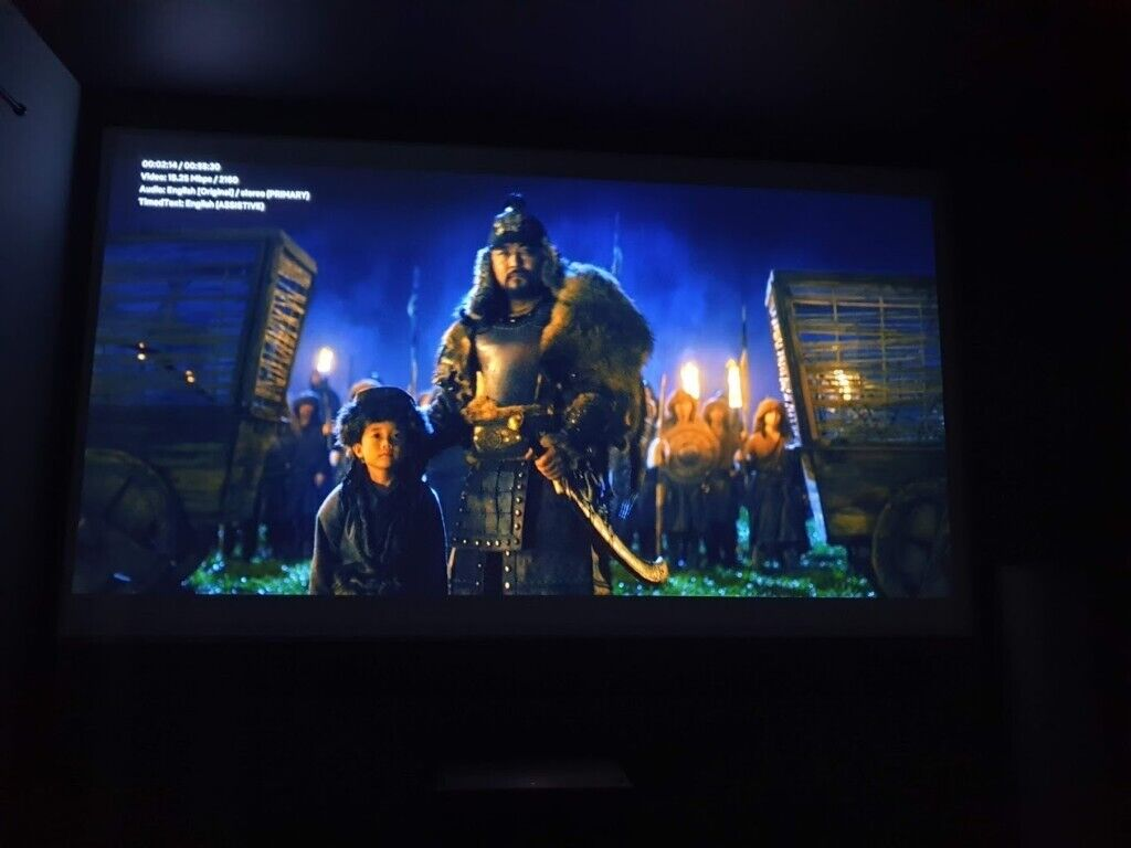 Xiaomi Mijia 4K Laser Projection TV 150 Inch Wifi Bluetooth English  Interface 3D Projector HDR DTS | in Lewisham, London | Gumtree