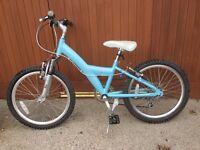 "Girls 20"" wheel Mountain bike"