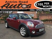 2009 MINI COOPER 1.6 DIESEL ** ONLY 70,000 MILES ** FINANCE AVAILABLE WITH NO DEPOSIT