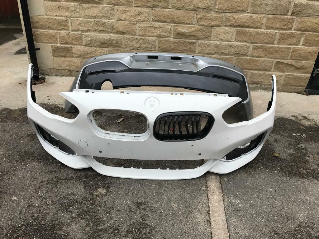 Genuine BMW 1 Series F20 M Sport Facelift Front & Rear Bumpers 2015-2016-2017-