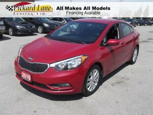2016 Kia Forte 1.8L LX $109.81 BI WEEKLY! $0 DOWN! LOW KMS!! BLU