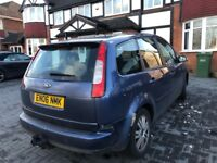 FORD FOCUS C-MAX DIESEL, 06 REG, 106K MILES, HPI CLEAR, LONG MOT, DELIVERY AVAILABLE