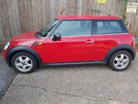 Mini one RED, 1.4 petrol LOW MILAGE!!!!! FULL SERVICE HISTORY, 2 KEYS MOT 21.2.19