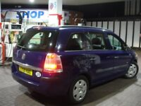 !!! VAUXHALL ZAFIRA 1.9 CDTI 2005 PLATE NEWER SHAPE !!! 7 SEATER !!! 5 DOOR MPV !