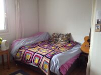 Beautiful room for sublet in West End vegan friendly flat