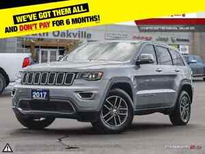 2017 Jeep Grand Cherokee Limited   BLUETOOTH   HEATED LEATHER  
