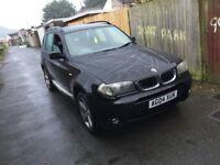 2004 BMW X3 I sport 4x4