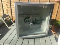 Carlsberg husky football beer fridge - World Cup, Collect Southbourne