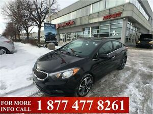 2014 Kia Forte EX, Back-up Cam, Alloys, Bluetooth, Htd. Seats