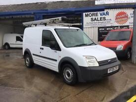 2009 white ford transit connect t220swb van 1.8 tdci 138.000 roof rack & 7m mot ready for