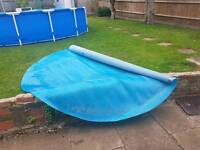 10ft pool solar cover