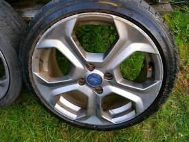 Ford Fiesta ST alloys wheels