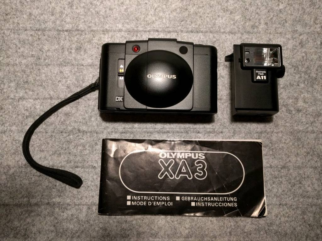 Olympus XA3 + A11 Flash (Exc+)