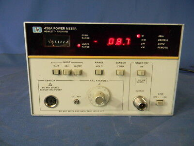 Agilent 436a Rf Power Meter With Option 022