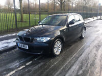 BMW 118D ES 2.0 DIESEL 6 SPEED MANUAL 2011 LOW MILEAGE BLACK