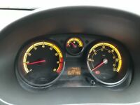 Low mileage Black Vauxhall Corsa Excite