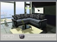 LUXURY BRAND NEW SHANNON CORNER OR 3+2 SEATER