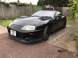 Toyota supra N/A manual black with LSD