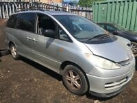 TOYOTA PREVIA, 2.4, 2002 BREAKING FOR SPARES