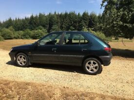 Peugeot 306 XRDT Diesel. m.o.t to end of January 2019
