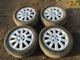 "For sale - Renault Megane / Megane scenic 16"" alloy wheels - good tyres"