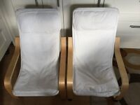 Ikea arm chairs x 2