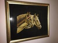 Tapestry horse picture