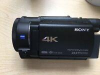 Sony Handycam FDR-AX33 SUPERB Camcorder As New !