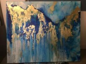 'Waterfall' Abstract Art