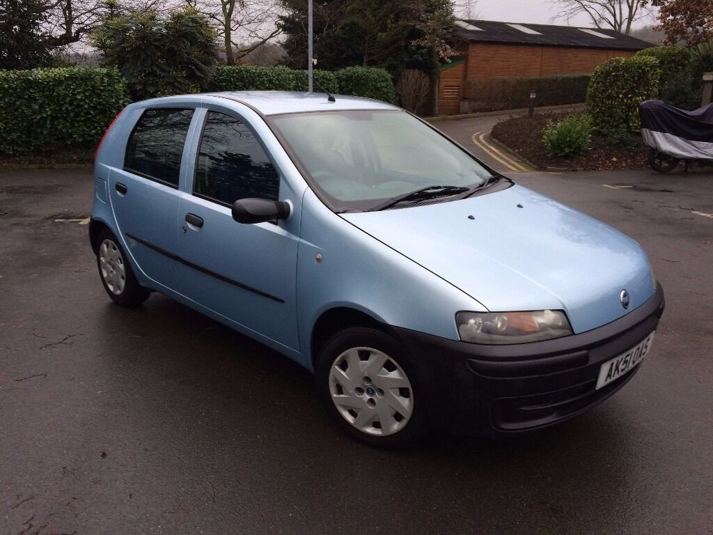 fiat punto 1 2 petrol 2001 65 000 miles reliable small car in north london london gumtree. Black Bedroom Furniture Sets. Home Design Ideas