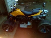 spy-f1 road quad bike