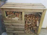 Log store made to order
