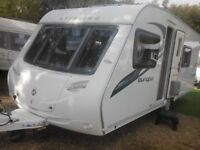 sterling Europa 550 4 berth fixed bed