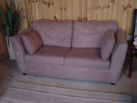 Contemporary Style two seater sofa bed Excellent Condition, Can Deliver.