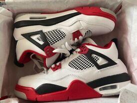 Jordan 4s retro fire red size 6 UK