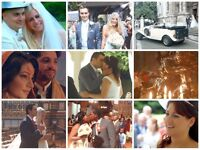 Special stylish videography packages for London-area weddings! Last-minute bookings a speciality.