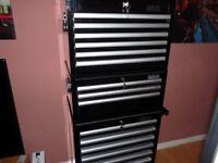 Halfords pro toolbox black 3 tier