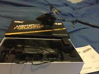 I helicopter drone